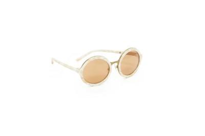 3.1. Phillip Lim Round Mirrored Sunglasses