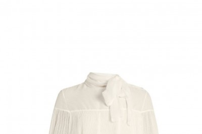 SEE BY CHLOÉ Pleated Crepe Blouse