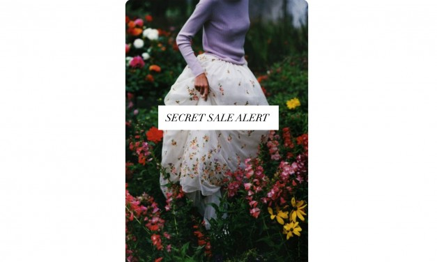Secret Sale Alert: Get 10% Off At Net-A-Porter