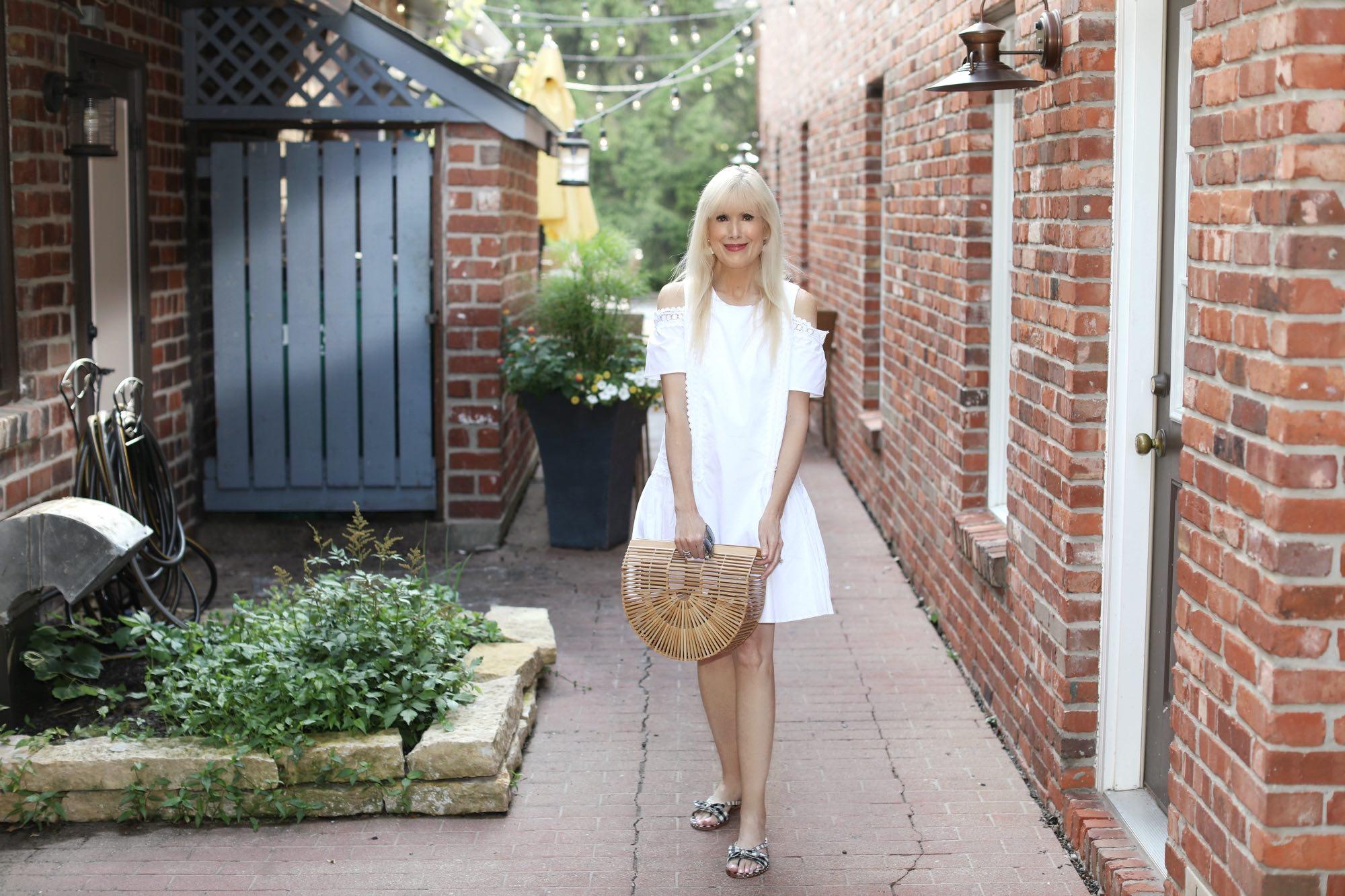 A Crisp Cotton Dress