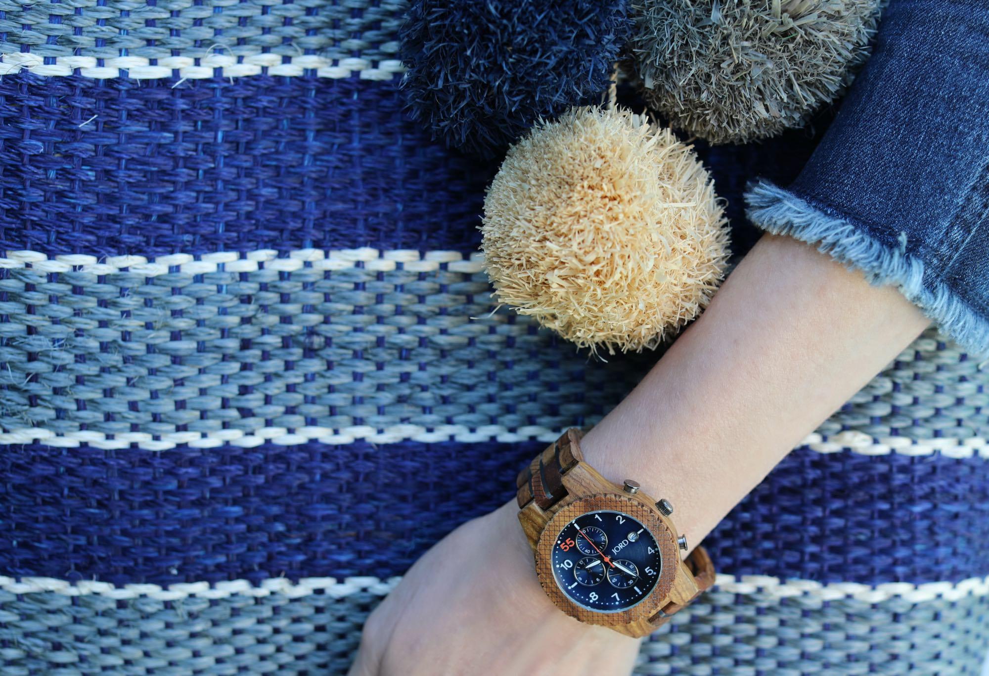 JORD Kosso & Midnight Blue Watch