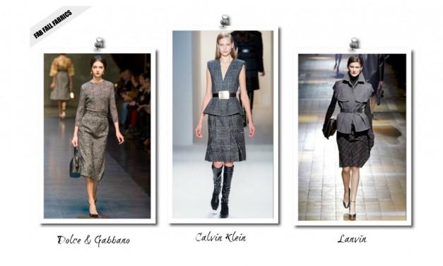 Fall Trend: Menswear Fabrics