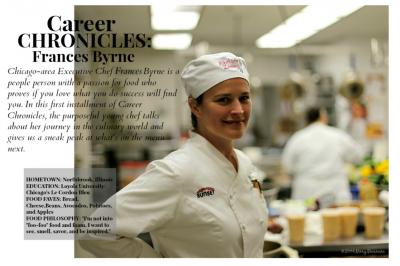 Career Chronicles: Frances Byrne
