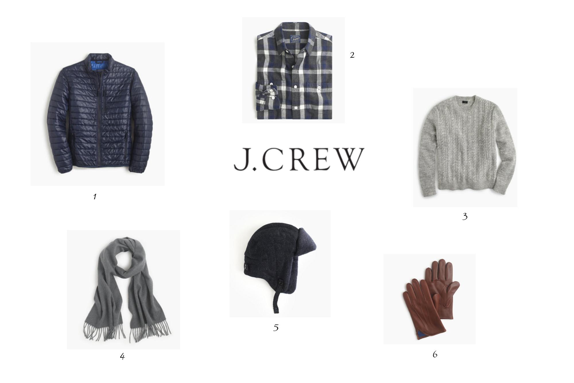 JCrew for him