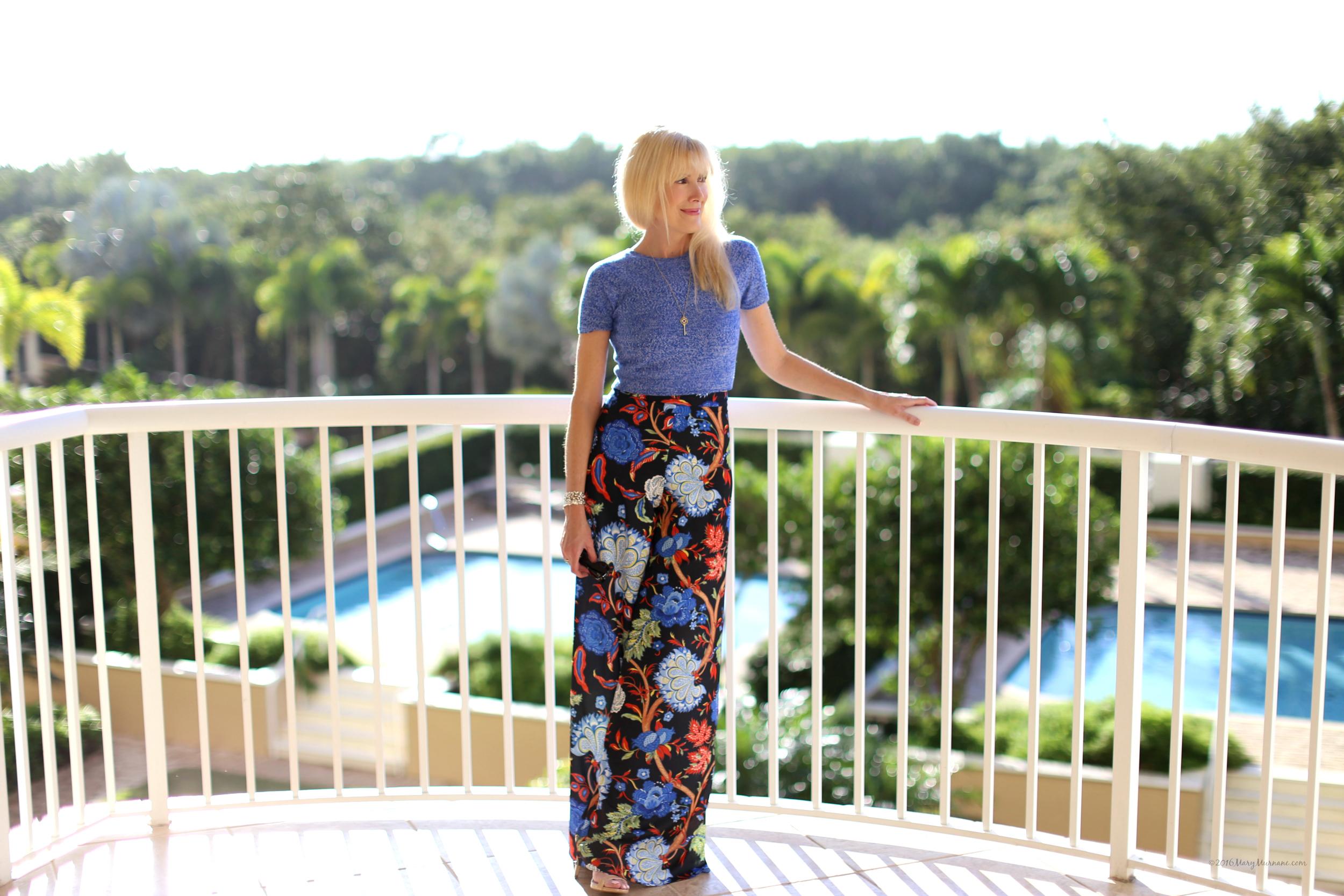 Floral pants 3