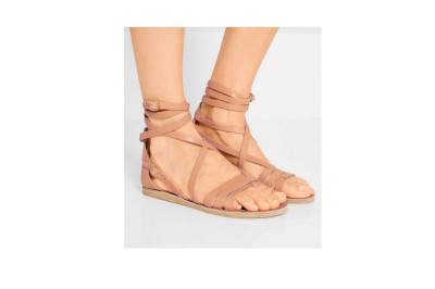 Ancient Greek Satira Leather Sandals
