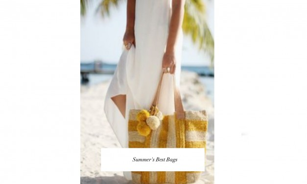 Fun, Fresh Straw Carryalls To Shop Now