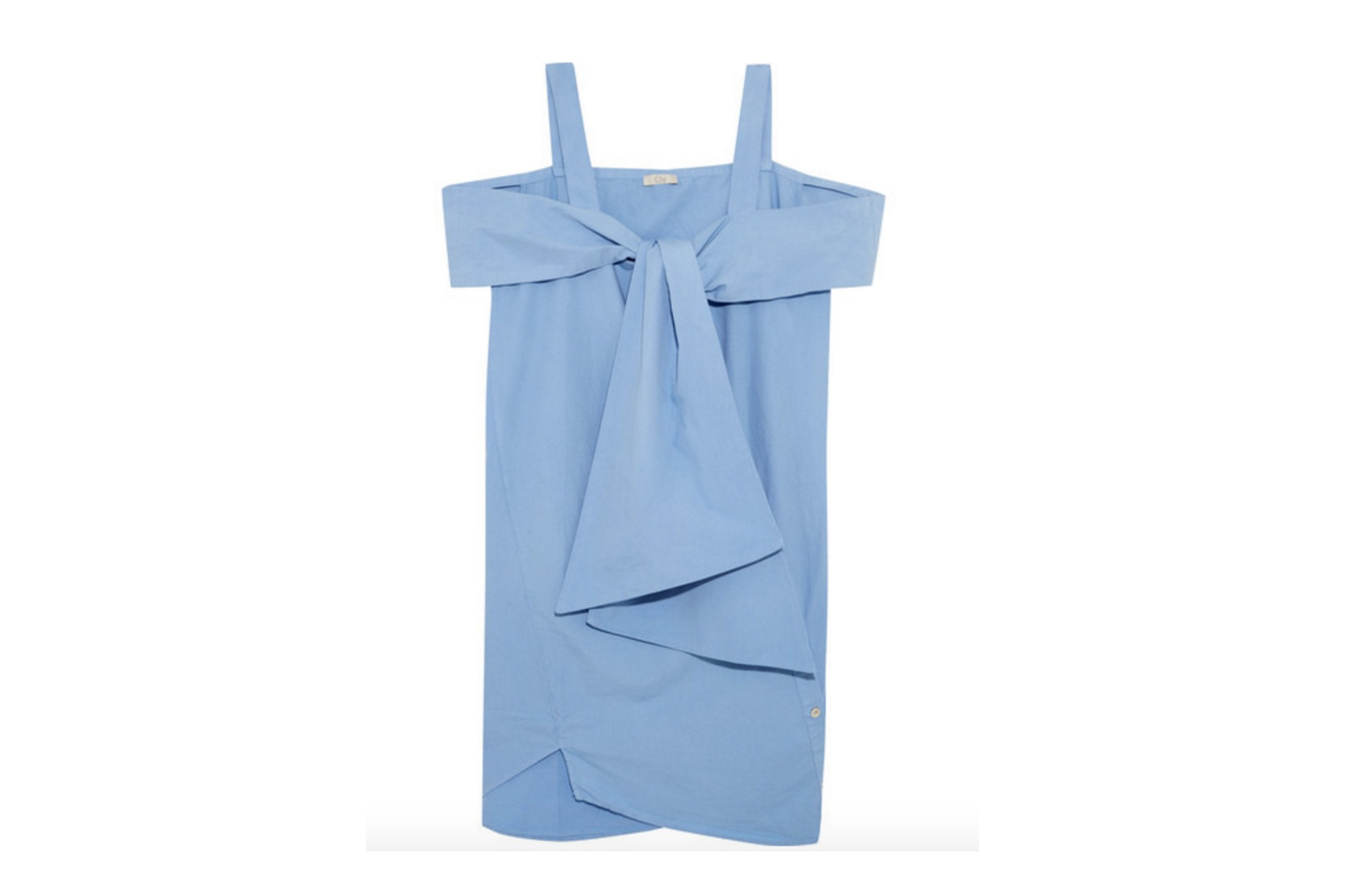 CLU BLUE SHIFT DRESS