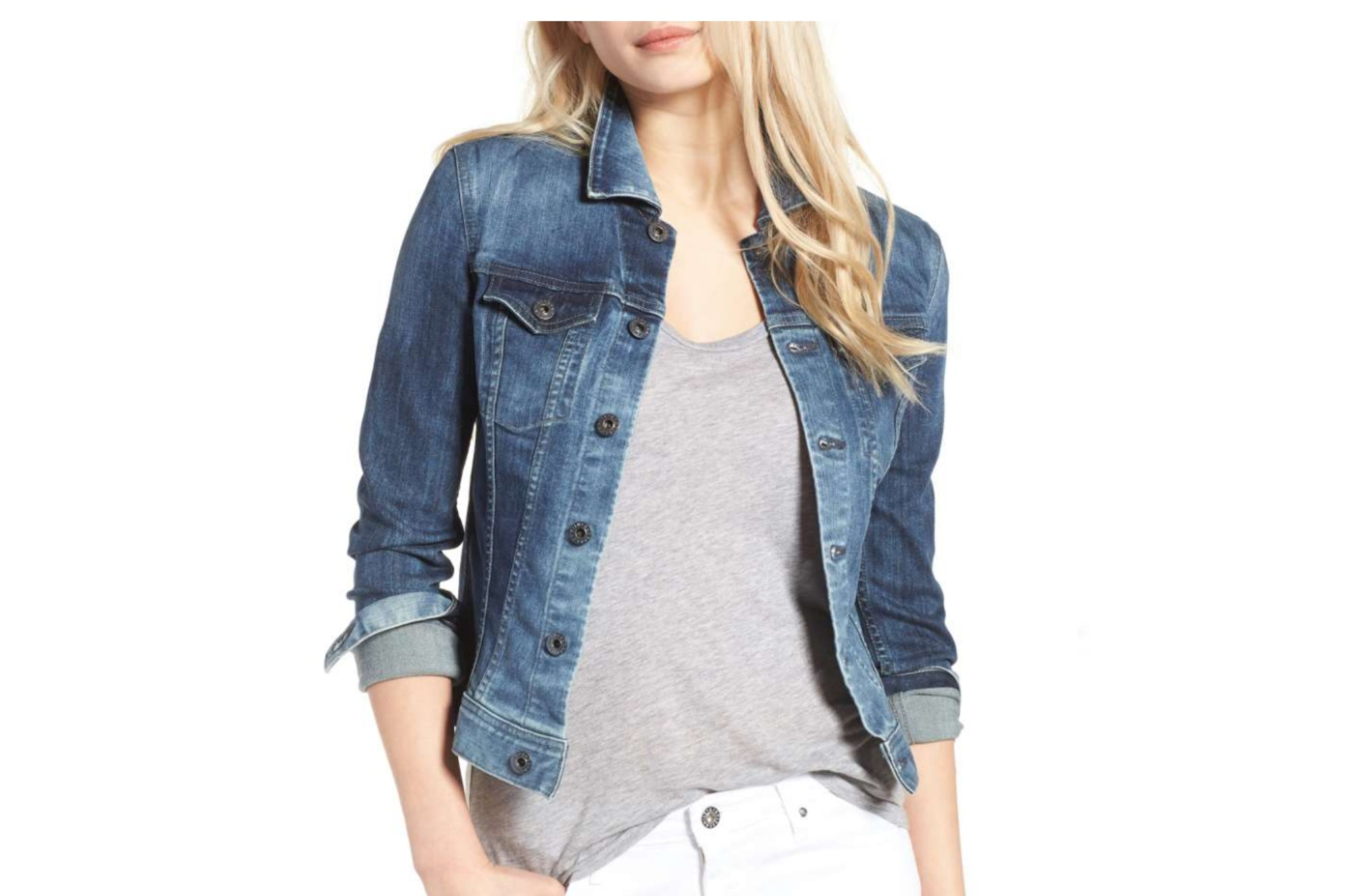 AN AG DENIM JACKET