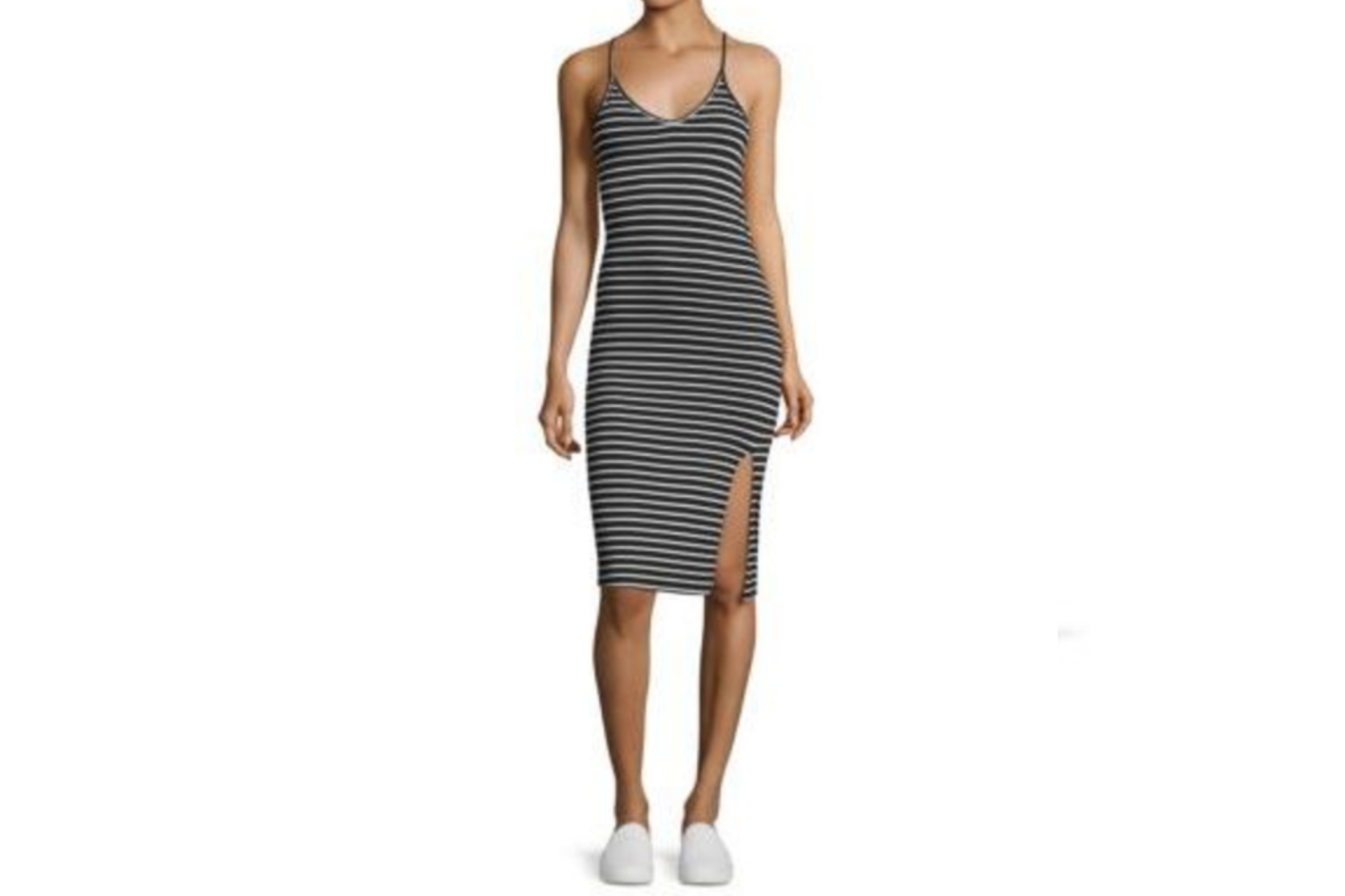 A Stateside Striped Dress