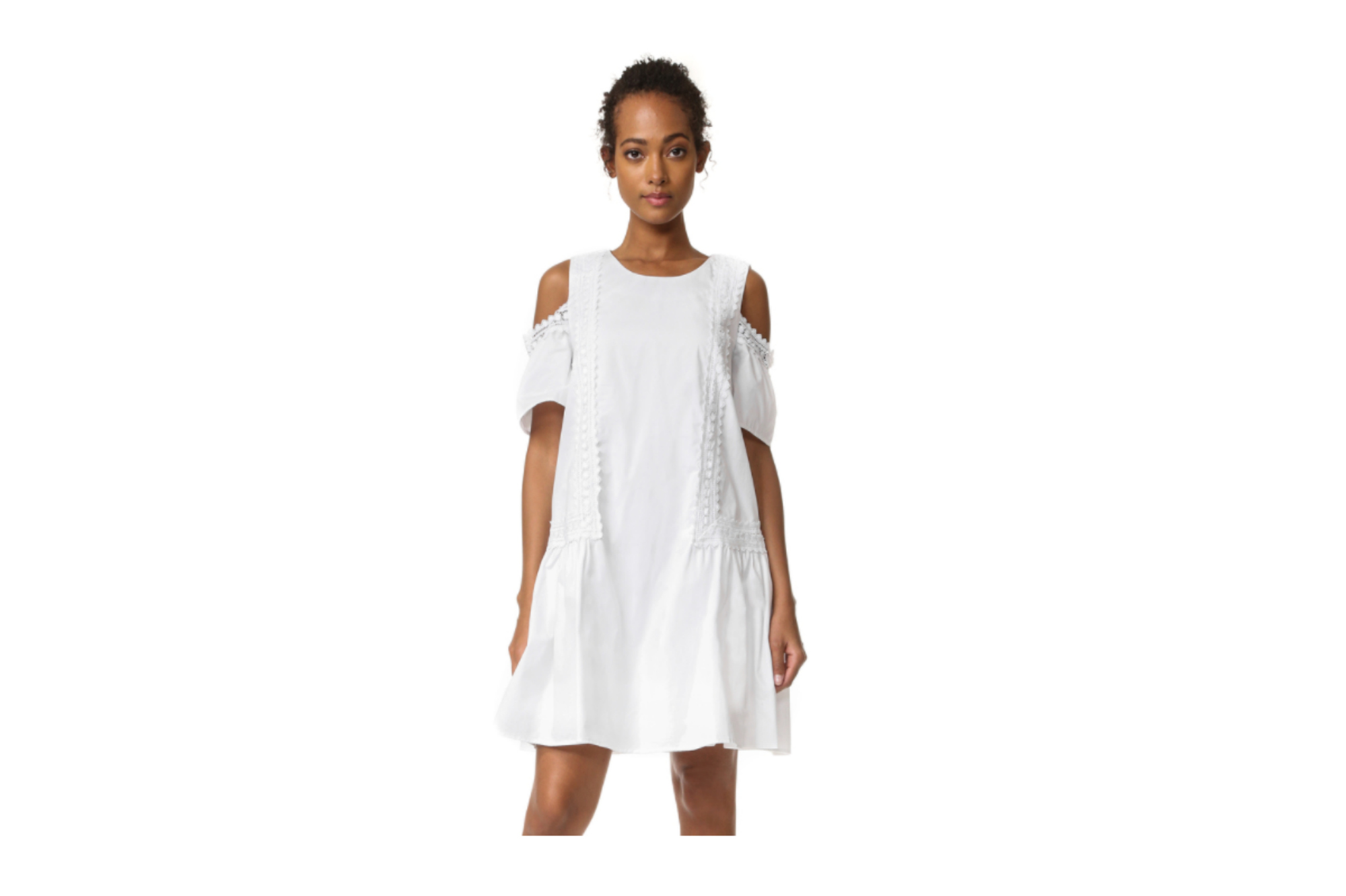 A CRISP COTTON DRESS