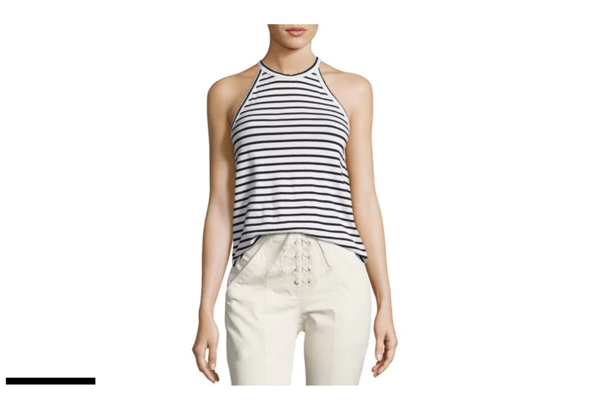 A Striped T-Shirt