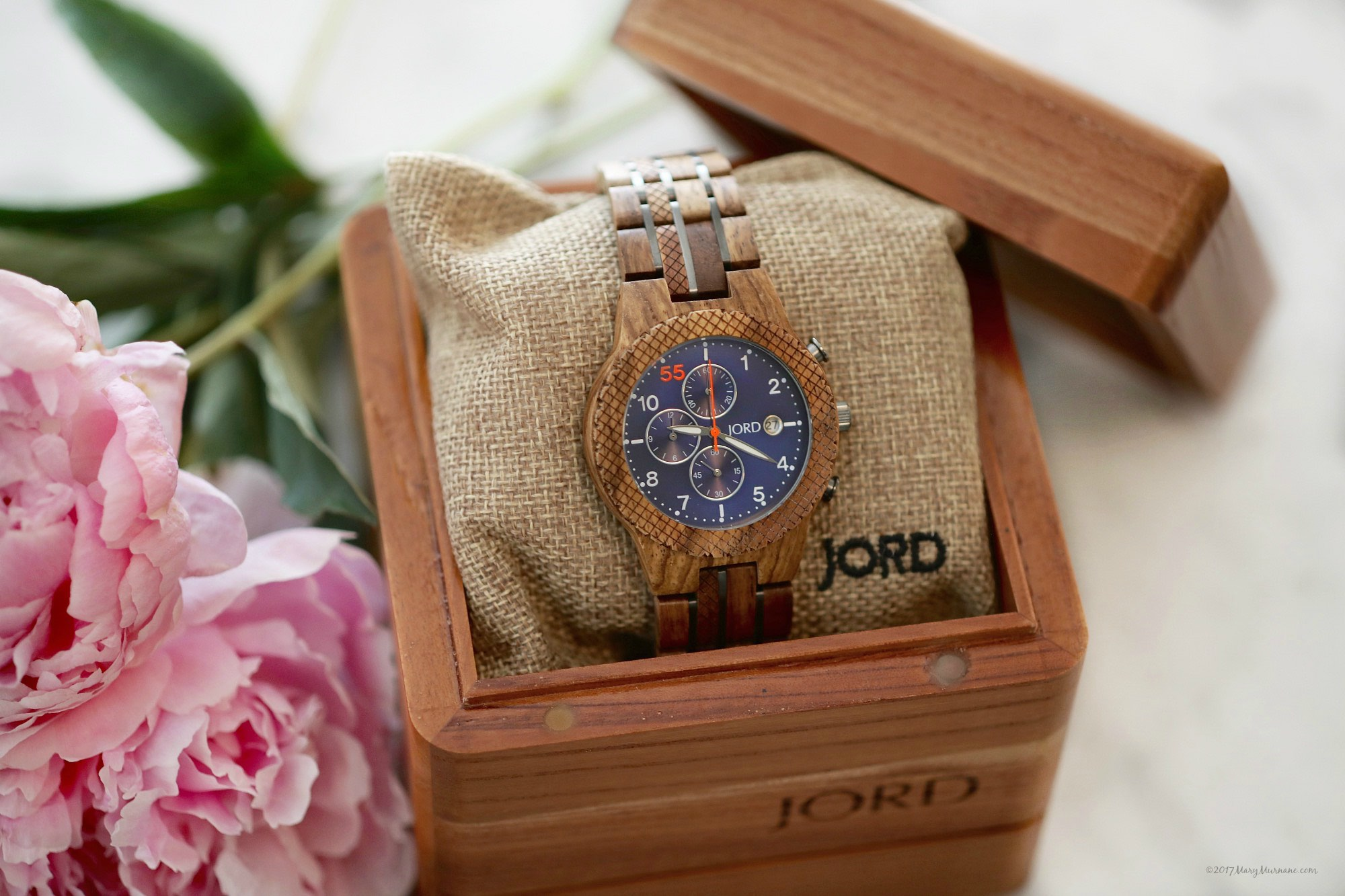 JORD Kosso & Midnight Blue Watch