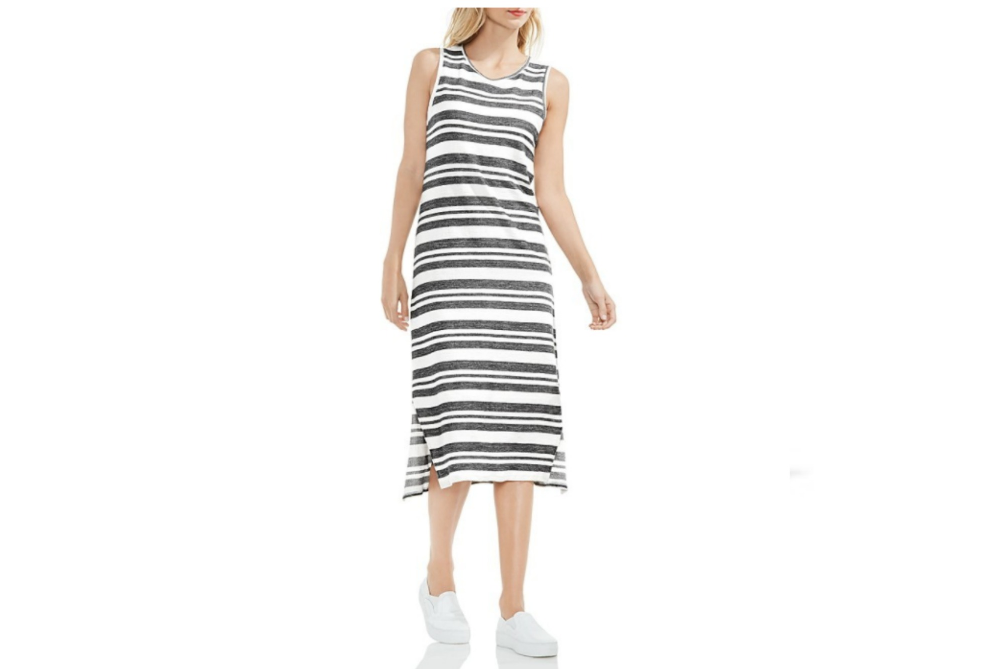 Vince Camuto Striped Dress