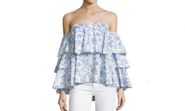 Caroline Constas Carmen Off-The Shoulder Top