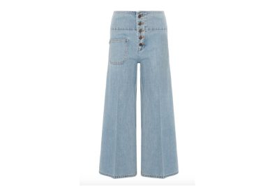 Marc Jacobs Cropped Wide-Leg Jeans