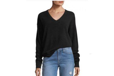 Frame Cashmere V-Neck Sweater