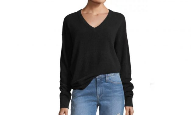Frame Cashmere V-Neck Sweater