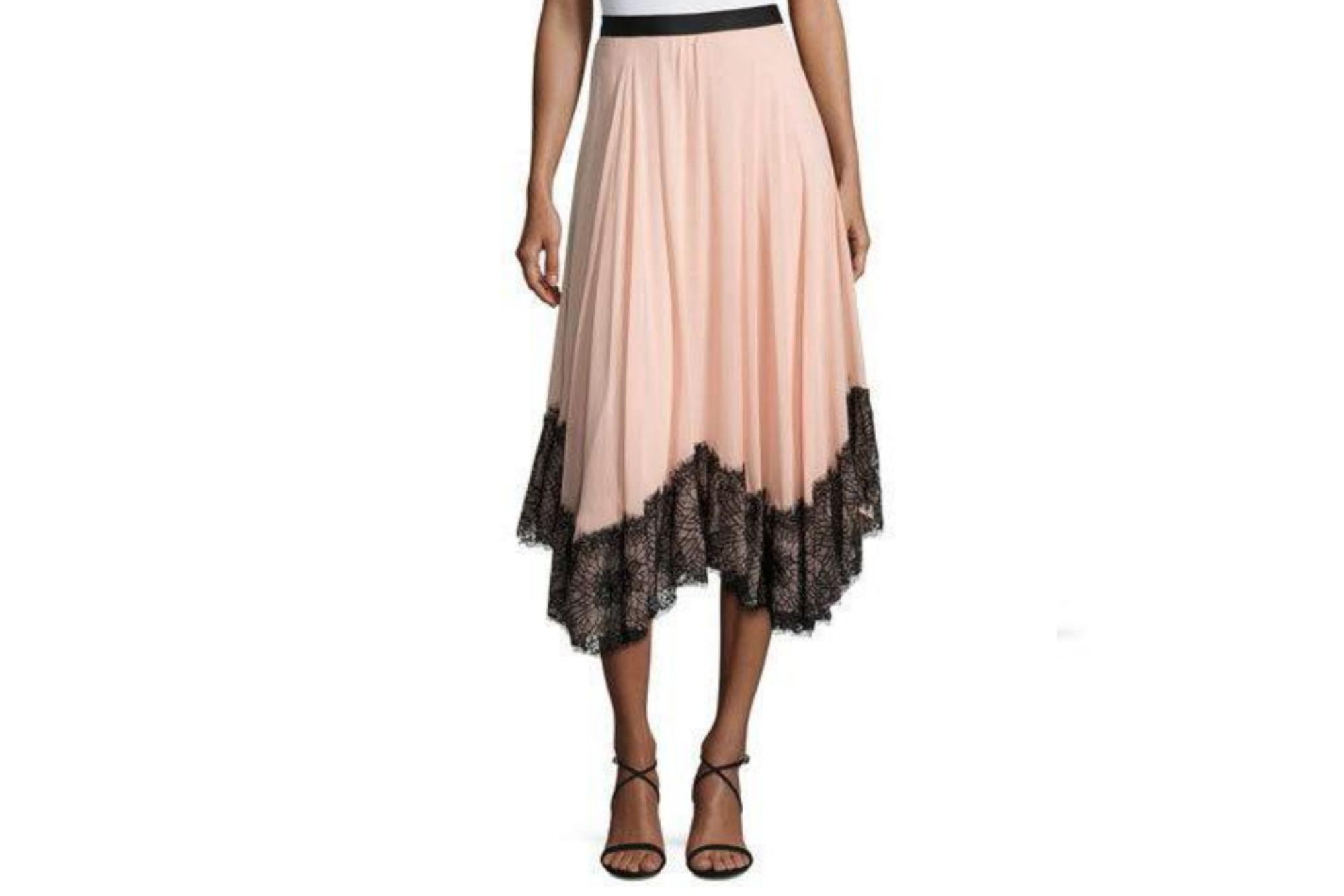 Cinq A Sept Chiffon Skirt