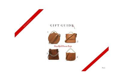 Beautiful Brown Bags