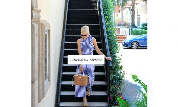 The Best Striped Jumpsuits To Shop Now