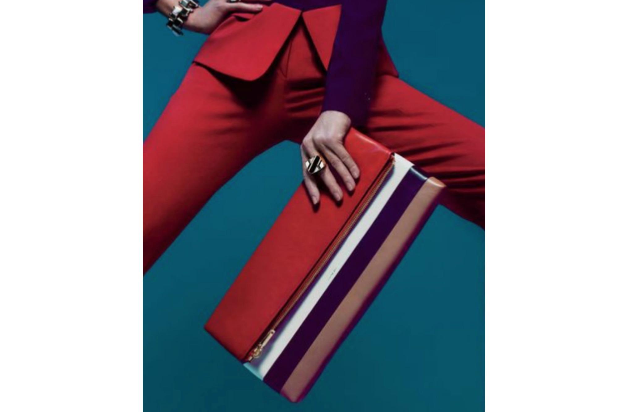 Color-Block Bags