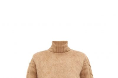 Max Mara Mohair Turtleneck Sweater