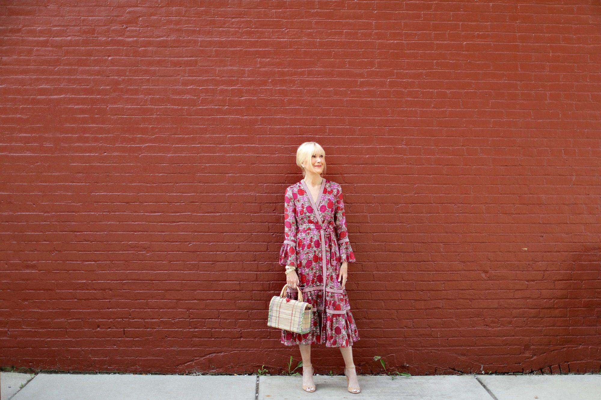 A Bold Floral Dress