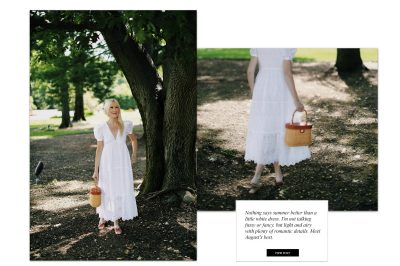 August's Best Little White Dresses