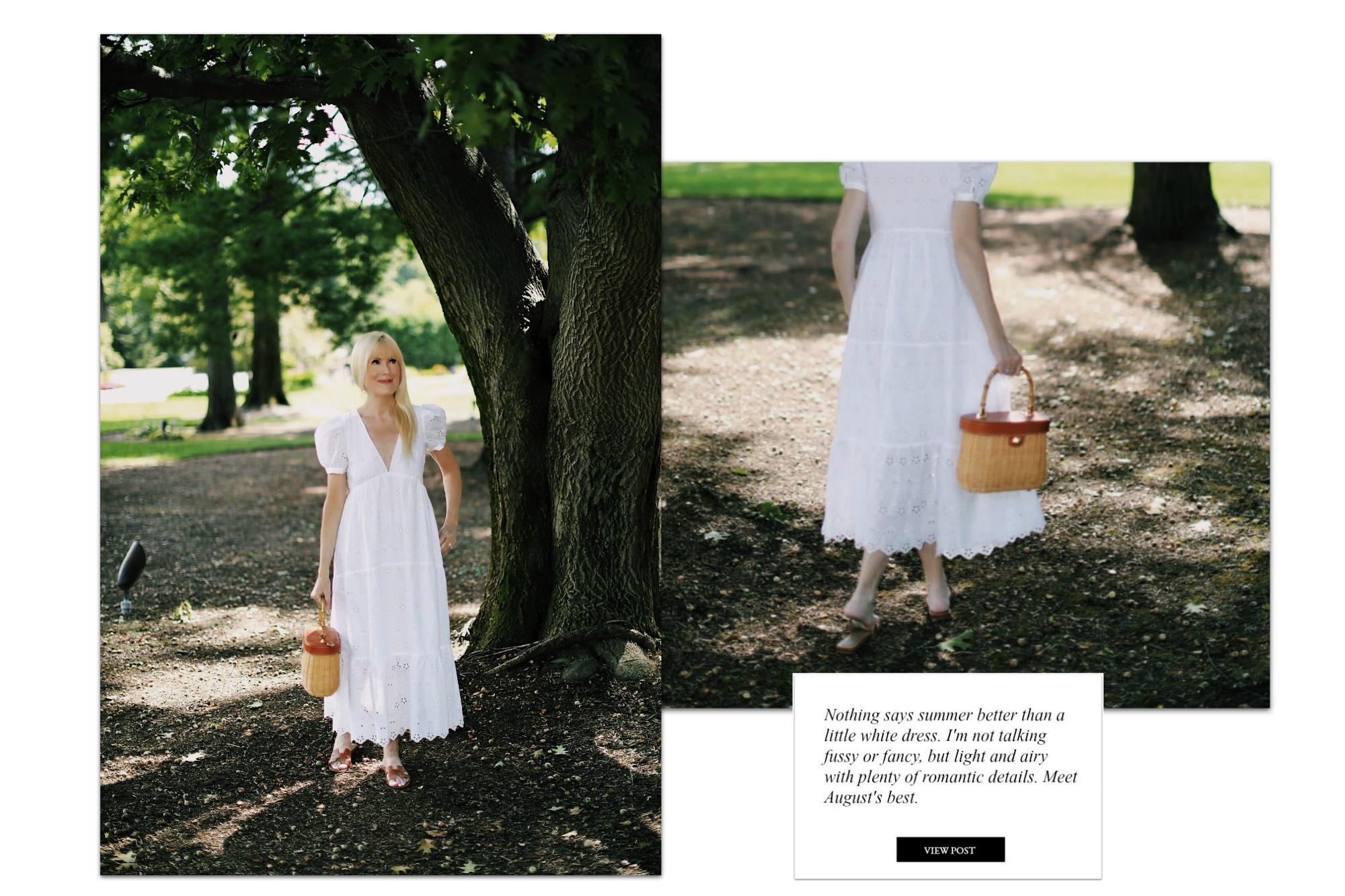 August's Best Little White Dresses
