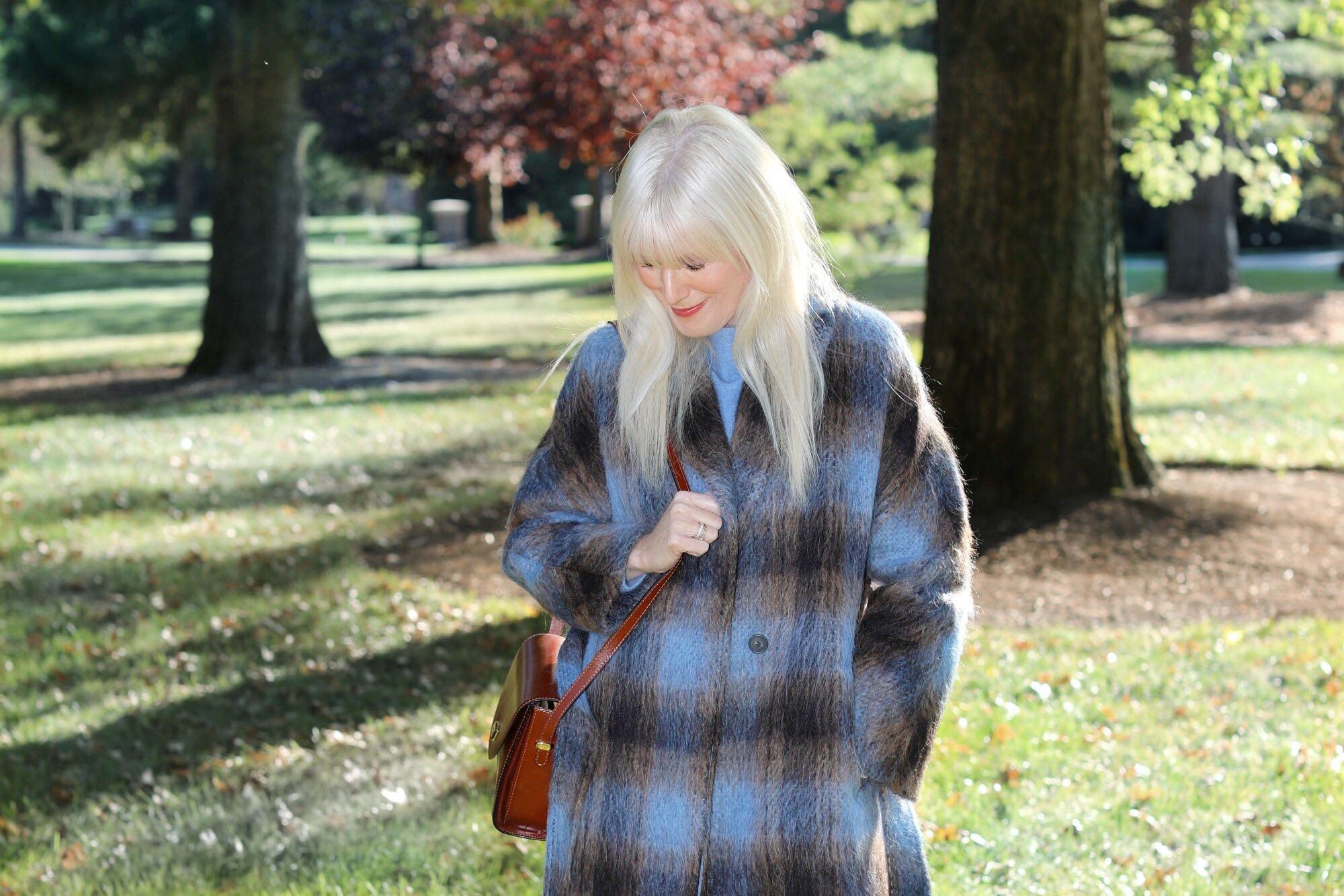 A Cozy Mohair Coat